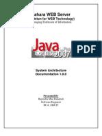 Sahara Web Server 1.0.0 - System Architecture Documentation