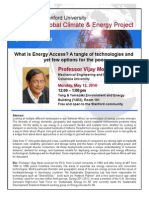 Modi Energy Access Talk Flier