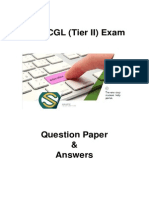 SSC CGL Tier II Question Paper - 223 LN4