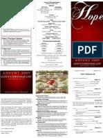 God's Christmas List - Advent 2009 - Hope