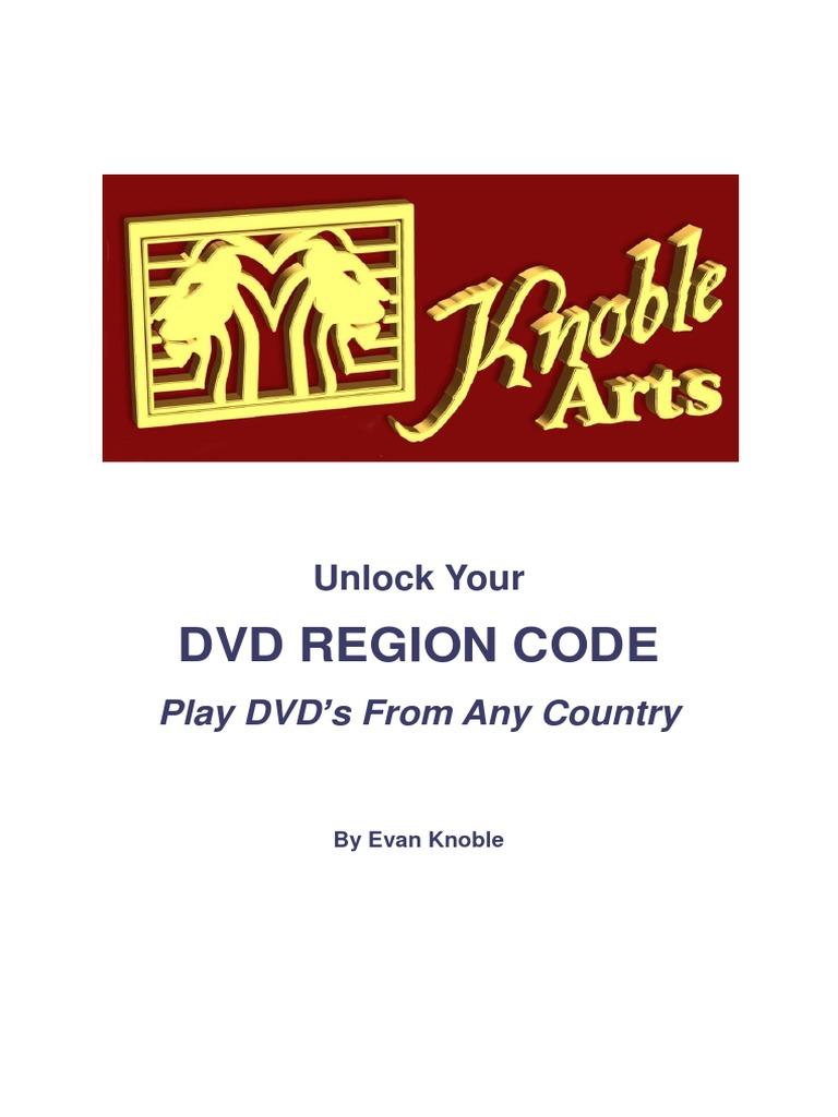 Unlock Your Dvd Region Code | Dvd | Audio Electronics