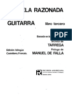 Pujol, Emilio - Escuela Razonada de La Guitarra Vol. 3