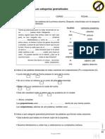 Refuerdo Guadiel Unidad 1 Las Categorias Gramaticales