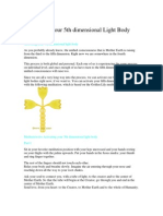 Activating Your 5th Dimensional Light Body