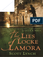 The Lies of Locke Lamora by Scott Lynch Extract
