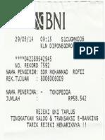 Nota Transfer
