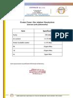 Siarczan cynku jednowodny (Zinc Sulfate monohydrate) - Chemiglob.com