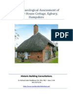 An Archaeological Assessment of Egbury House Cottage