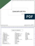 Toshiba Satellite c850 c855 - Inventec Dakar10f