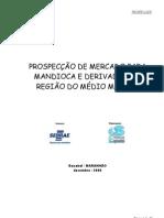 PROSPECCAO MERCADO MANDIOCA