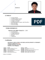 Josue Arzadon Resume