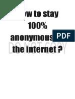 Internet Anonymous