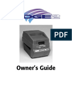 GERBER EDGE2 Users Manual