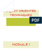 Oot Module i Ppt