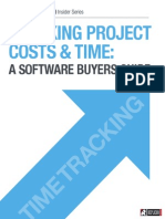 Buyer's Guide to Projects Tracking Costs and Time