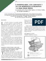 Barra. La Estructura Hospotalaria, Los Cuidados y Los Cuidadores