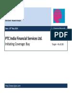 ISJ PTC India Financial Services Ltd