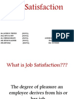 Job Satisfaction Ppt.