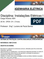 UE 05 - Sistemas de Proteção Contra Descargas Atmosféricas - Instalações Elétricas I (1)