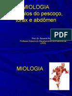 ER Miologia + Pescoço, tórax e abdomen