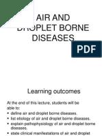 2. Air & Droplet Borne Diseases