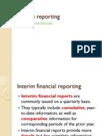 Interim financial statements