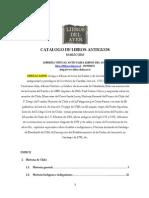 Catalogo Libreria Anticuaria Libros Del Ayer Marzo 2013