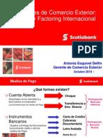 Financiamiento de Comercio Exterior- Factoring Int