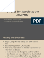 101 Uses for Moodle at the University (1)
