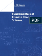 Resource Guide Fundamentals of Climate Change Science