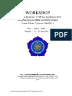 Workshop Penyusunan Dokumen KTSP Dan Kur 2013 Di SMA Muh Wsb-2