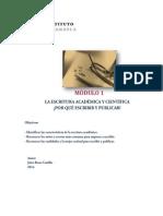 Modulo1IntroduccionEscrituraAcademica