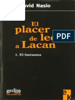 El Placer de Leer a Lacan - Juan David Nasio