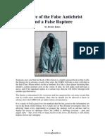 Beware of the False Antichrist and a False Rapture