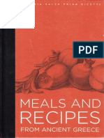 Meals & Recipes from Ancient Greece- http://www.projethomere.com