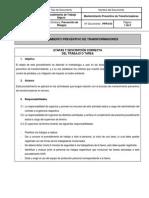 PPR-010 Mntto Preventivo Transf. V01