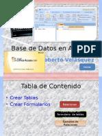 Base de Datos 2003