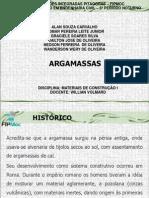 1 - ARGAMASSA - APRESENTACAO