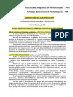 Contabilidade de Agronegocios 8 Sem. c.contabeis Aula 03 03-09-2013