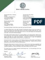South Carolina Delegation Letter on Ex-Im Bank