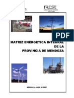 Matriz Energetica Integral PciaMza