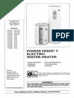 Kenmore Power Miser 9 #153.327466 Manual