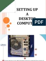 Setting Up a Desktop Computer