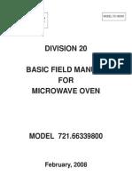 Kenmore Microwave Repair Manual Model 721.66339