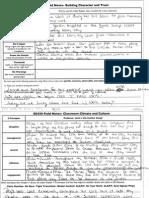 field notes- educ 350
