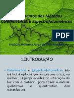 colorimetria fotometria UFRA