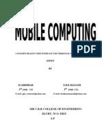 13. MOBILE COMPUTING