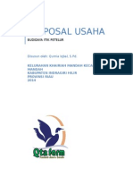 Cover Proposal Usaha
