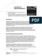 Professional Report Guidance