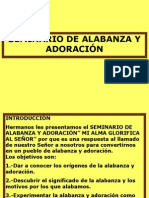 SEMINARIO DE ALABANZA Y ADORACIÓN.ppt